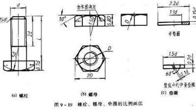 螺纹紧固件设计图